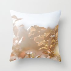 autumn on plantation Throw Pillow