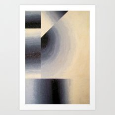 The Curve  1990 Art Print