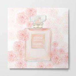 Fleur d' Coco Metal Print