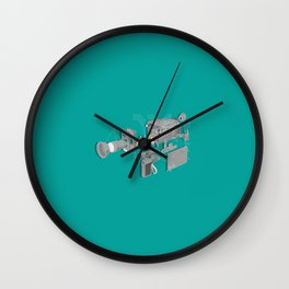 Super 8 Wall Clock