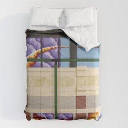 Old Town Sun Cloud Comforters