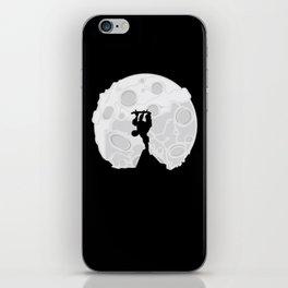 Skater Moon iPhone Skin