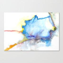 Sunrise Space Travel Canvas Print