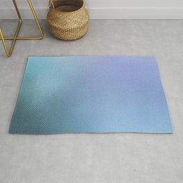 Minimalist Pattern in Iridescent Blue 32 Rug