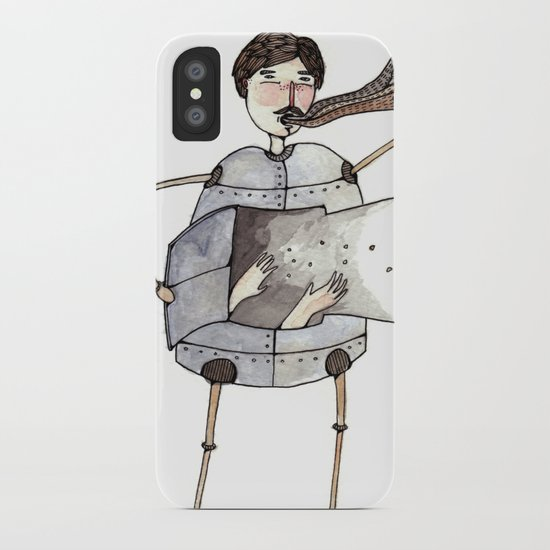 Robot Magic iPhone Case