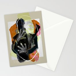 An embrace's mutation Stationery Cards