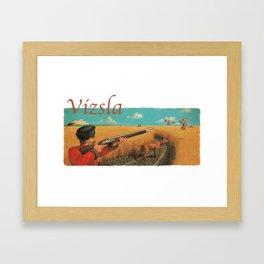 Vizsla Framed Art Print