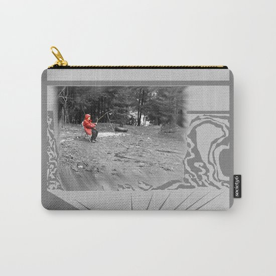 Sad Child Carry-All Pouch