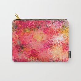 Floral Explosion Carry-All Pouch