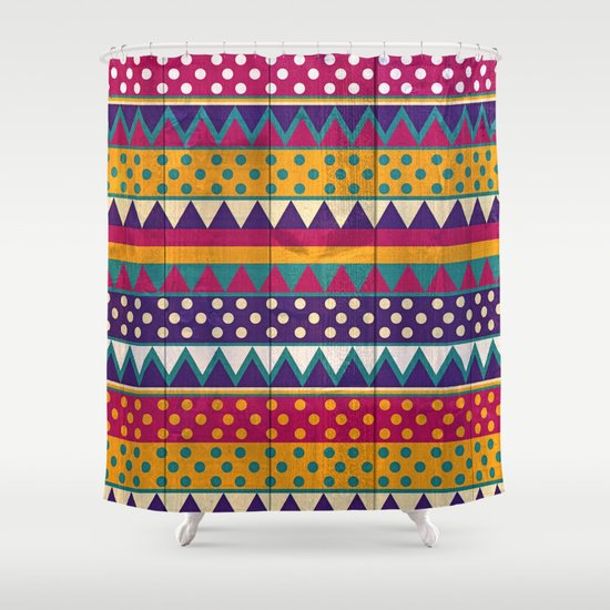 Mexican Pattern Shower Curtain