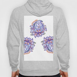 traditional paisley in modern style Hoody