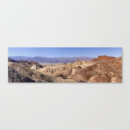 Zabriskie Point. Canvas Print