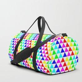 Triangle Tessellation 6 Color Duffle Bag