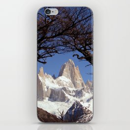 Fitz Roy Mountain Landscape (Patagonia, South America) iPhone Skin