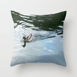 Duck 2! Throw Pillow