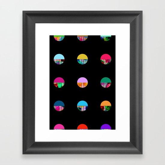 Dot's Play Framed Art Print