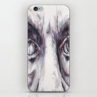 creepy iPhone & iPod Skins featuring Creepy by MarcinLichota
