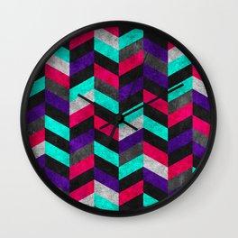 Geometric Mundo 2 Wall Clock