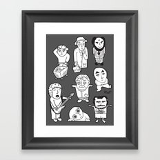 everyday heroes | version Framed Art Print