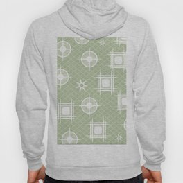 Retro Stars Green Hoody
