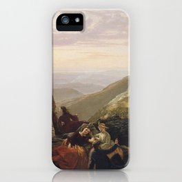 The Belated Party on Mansfield Mountain,1858 iPhone Case