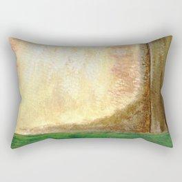Awakening, Abstract Landscape Rectangular Pillow