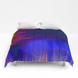 Indigo Waterfall, by Mickeys Art And Design Comforters