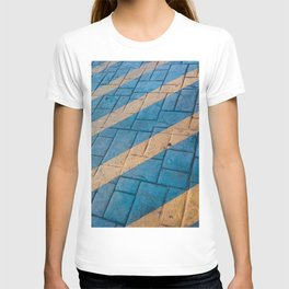 Yellow Lines at the ground T-shirt