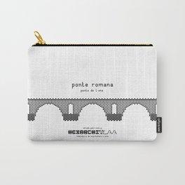 HexArchi - Portugal, Ponte de Lima, Ponte Romana Carry-All Pouch