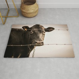 How Now, Brown Cow? Rug