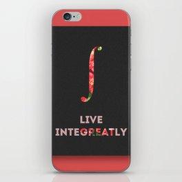 Live Integreatly iPhone Skin