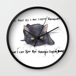 Ooops!! Wall Clock