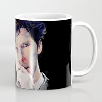 benedict Mugs featuring Benedict Cumberbatch by Hash