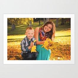 Family Shoot-Bree & Silas2 Art Print