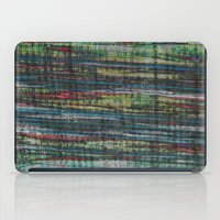 striped iPad Cases featuring Jagged Striped by Sandy Moulder