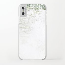 Playful wave Clear iPhone Case