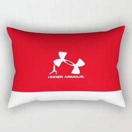 Under, Fit Armour, gym Rectangular Pillow