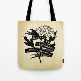 Handmaid's Tale - NOLITE TE BASTARDES CARBORUNDORUM Tote Bag