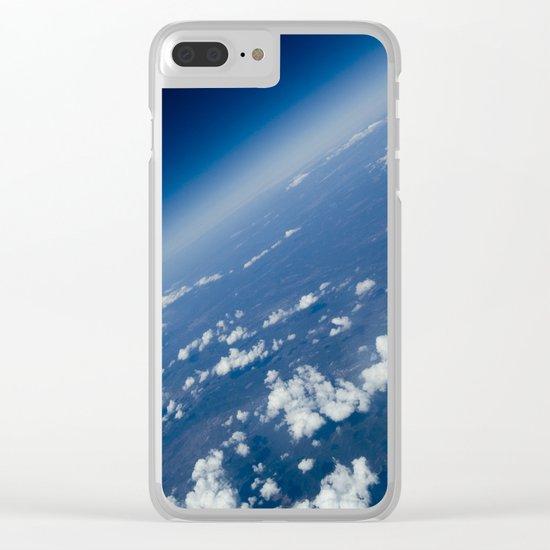 infinite space Clear iPhone Case