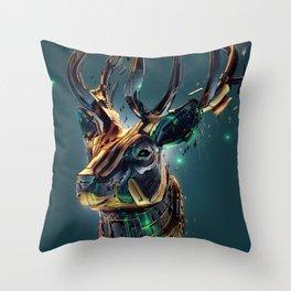 Manimals - Scythian Throw Pillow