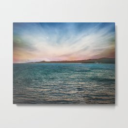 Roatan Sunset II Metal Print