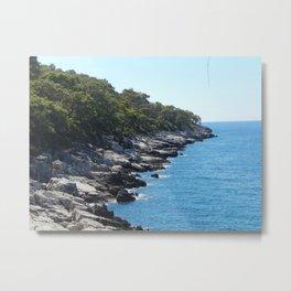 Rocky Beach at Aktash, Turkey Metal Print