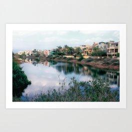 Balona Canal Art Print