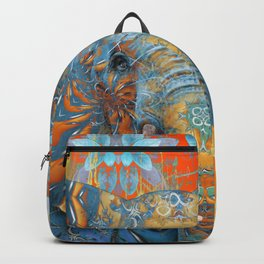 The Happy Blue Elephant Backpack