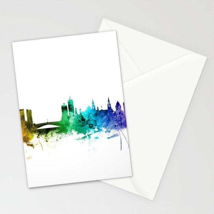 Leeds England Skyline Stationery Cards