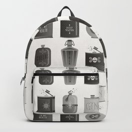 Flask Collection – Black Palette Backpack