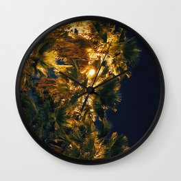 Palm Nation Wall Clock