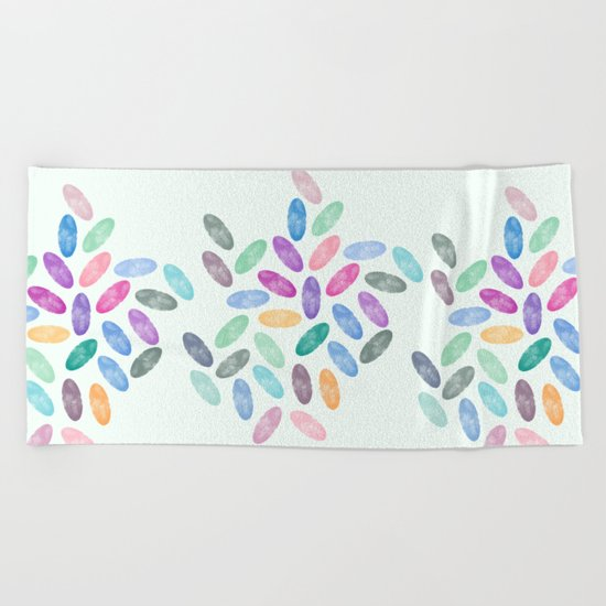 Lovely Pattern VI Beach Towel