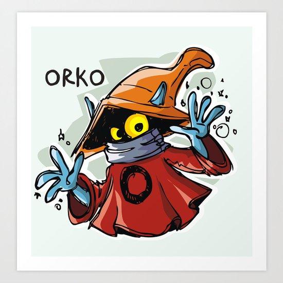 ORKO! Art Print