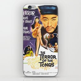 The Terror of the Tongs iPhone Skin